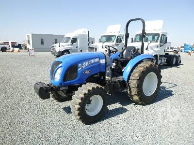 2016 NEW HOLLAND BOOMER 47 MFWD Utility Tractor