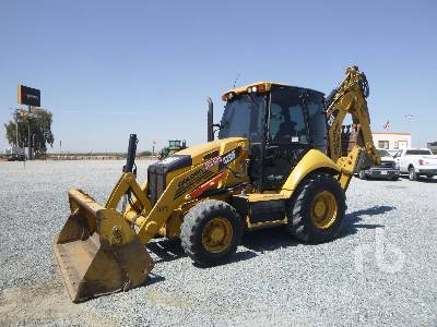 2012 CATERPILLAR 420F 4x4 Loader Backhoe