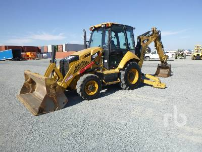 2013 CATERPILLAR 420F 4x4 Loader Backhoe