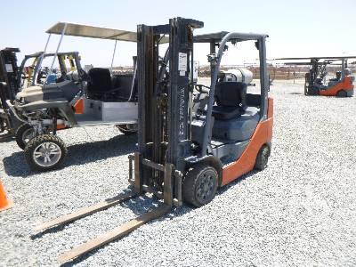 2014 TOYOTA 8FGCU25 4500 Lb Forklift