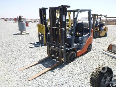 2016 TOYOTA 8FGCU25 4500 Lb Forklift
