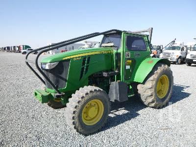2014 JOHN DEERE 5115ML MFWD Tractor
