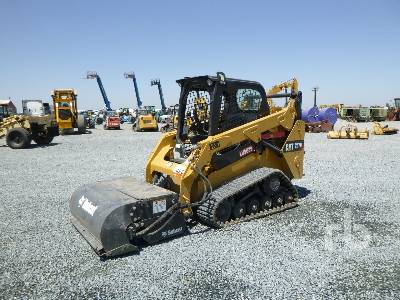 2014 CATERPILLAR 257D Compact Track Loader