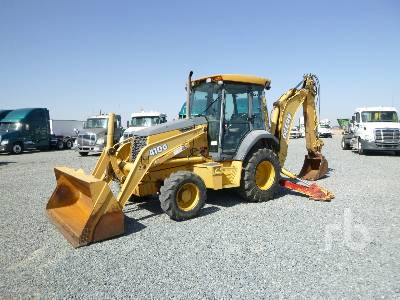 2002 JOHN DEERE 410G 4x4 Loader Backhoe