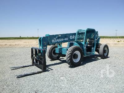2004 GRADALL 534D9 9000 Lb 4x4 Telescopic Forklift