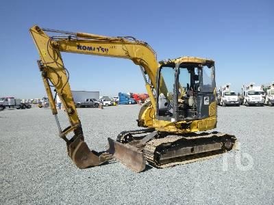 2011 KOMATSU PC78US8 Mini Excavator (1 - 4.9 Tons)