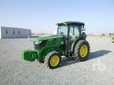 2017 JOHN DEERE 5090GV MFWD Tractor
