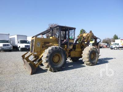1990 CATERPILLAR 518G 4x4 Grapple Skidder