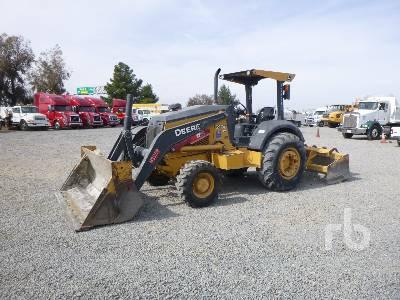 2014 JOHN DEERE 210KEP Utility Tractor