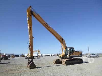 HYUNDAI ROBEX 290LC-9 Long Reach Hydraulic Excavator
