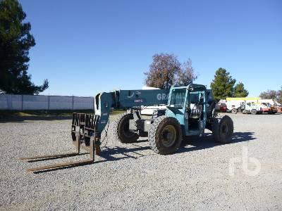 2003 GRADALL 534D945 9000 Lb 4x4x4 Telescopic Forklift
