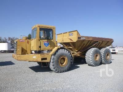 CATERPILLAR D400D 6x6 Articulated Dump Truck