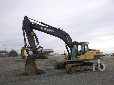 2014 VOLVO EC250DL Hydraulic Excavator