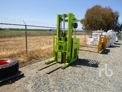 CLARK NP500-251 2500 Lb Stand Up Narrow Aisle Electric Forklift