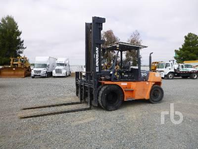 2008 DOOSAN D90S5 18850 Lb Forklift