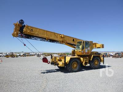 1989 GROVE RT418 18 Ton 4x4 Rough Terrain Crane