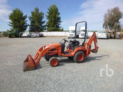 2016 KUBOTA BX250 4WD Utility Tractor
