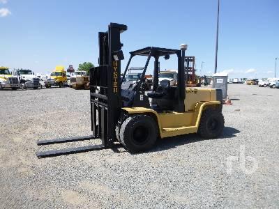 1991 HYSTER H155XL 15100 Lb Forklift
