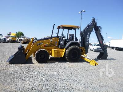 2005 JOHN DEERE 710G 4x4 Loader Backhoe