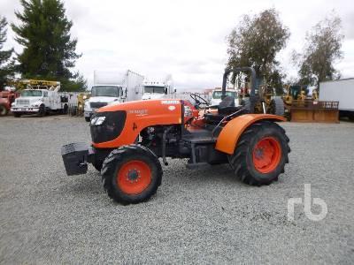 2011 KUBOTA M108S MFWD Tractor
