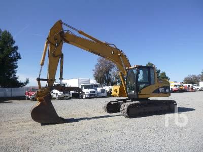 2001 CATERPILLAR 320CU Hydraulic Excavator