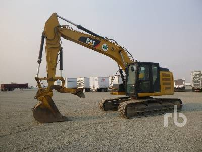 2012 CATERPILLAR 320E LRR Hydraulic Excavator