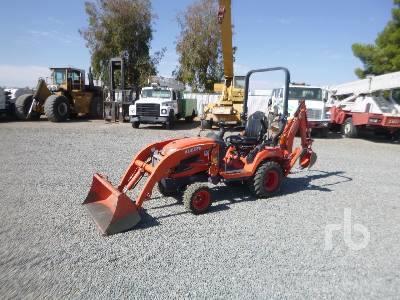 2016 KUBOTA BX25DLB 4WD Utility Tractor