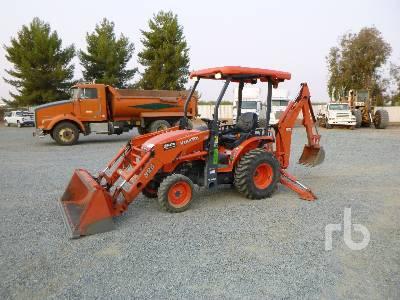 2016 KUBOTA B26TLB 4WD Utility Tractor