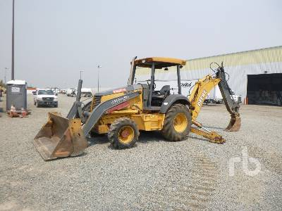 2002 JOHN DEERE 310SG 4x4 Loader Backhoe