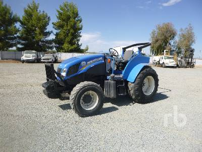 2014 NEW HOLLAND T4.115 MFWD Tractor