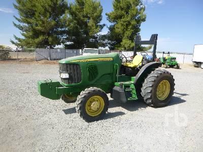 2003 JOHN DEERE 6420L MFWD Tractor