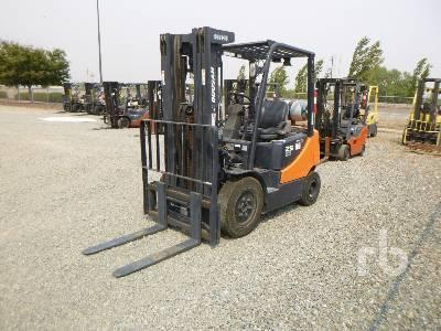 2016 DOOSAN G25P5 4600 Lb Forklift