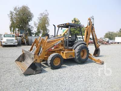 2005 CASE 590 SUPER M Series 2 Loader Backhoe