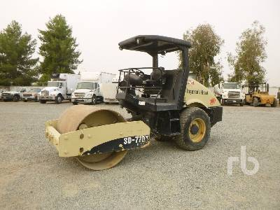 2004 INGERSOLL-RAND SD77DX TF Vibratory Roller