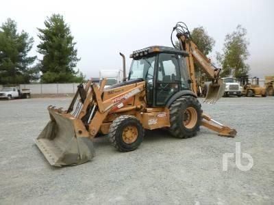 2005 CASE 590 Super M 4x4 Loader Backhoe