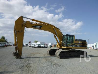 2001 CATERPILLAR 345B Series II Hydraulic Excavator