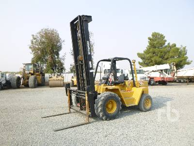 CATERPILLAR R80 8000 Lb 4x4 Rough Terrain Forklift