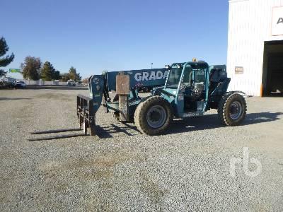 2008 GRADALL 534D10 10000 Lb 4x4 Telescopic Forklift