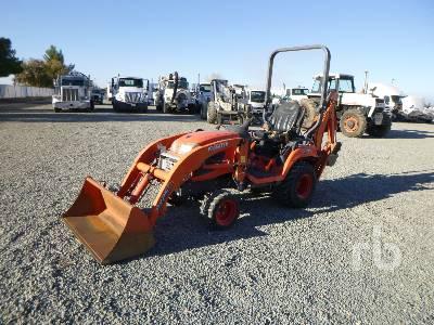 2017 KUBOTA BX25DLB 4WD Utility Tractor