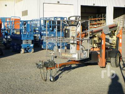 2014 JLG T350 Electric Tow Behind Boom Lift