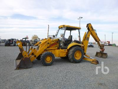 1996 JCB 214 4x4 Loader Backhoe