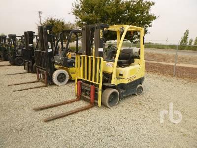 2010 HYSTER S50FT 4650 Lb Forklift