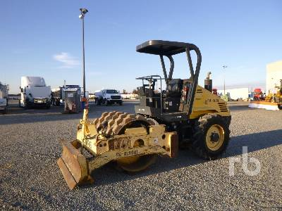 2005 BOMAG BW145PDH-3 Padfoot Vibratory Padfoot Compactor