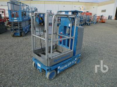 2012 GENIE GR12 Electric Personal Material Lift