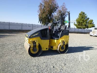 2016 BOMAG BW120AD-5 Tandem Vibratory Roller