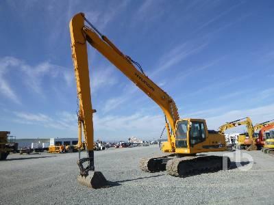 2007 HYUNDAI ROBEX 210LC-7 Long Reach Hydraulic Excavator