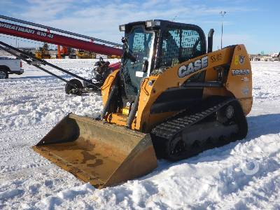 2016 CASE TR320 2 Spd Compact Track Loader