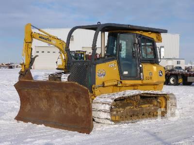 2008 JOHN DEERE 700J LGP Crawler Tractor