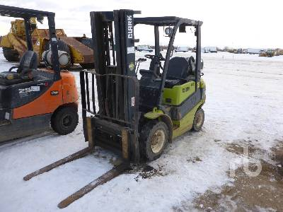 2014 CLARK C25L Forklift Parts/Stationary Construction-Other