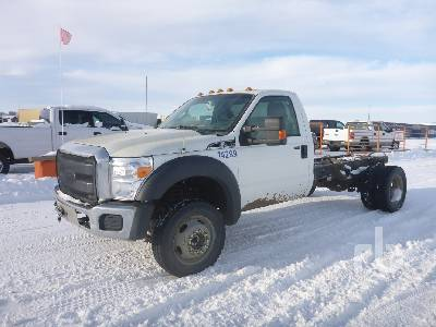 2011 FORD F550 XLT 4x4 Cab & Chassis